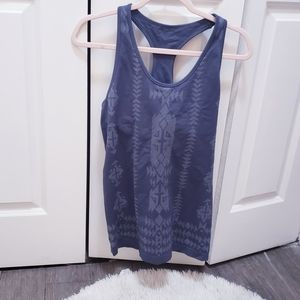 Maurices Aztec geo workout tank top L